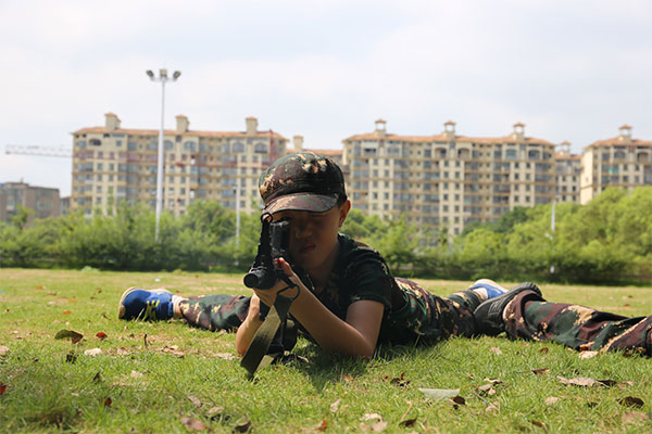 铁血猎人25天历练军事夏令营