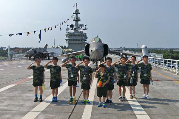 上海亮剑7天军事夏令营