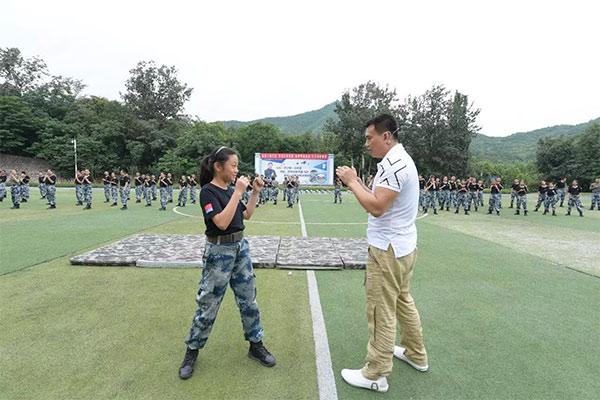 北京安全军事夏令营