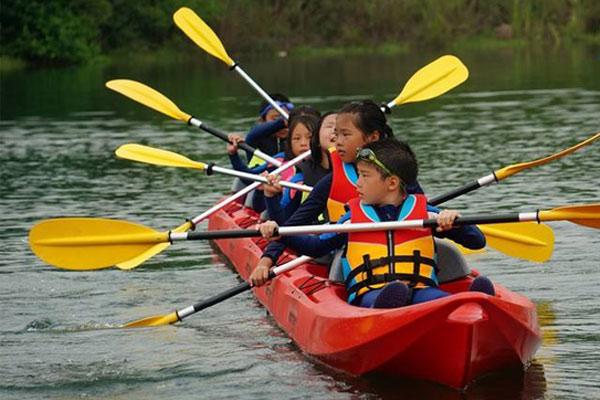 杭州千岛湖皮划艇夏令营,让孩子暑期更丰富