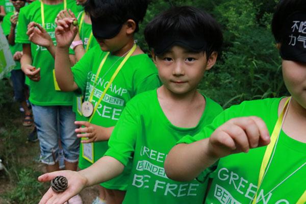 广州少儿拓展夏令营,锻炼生存能力