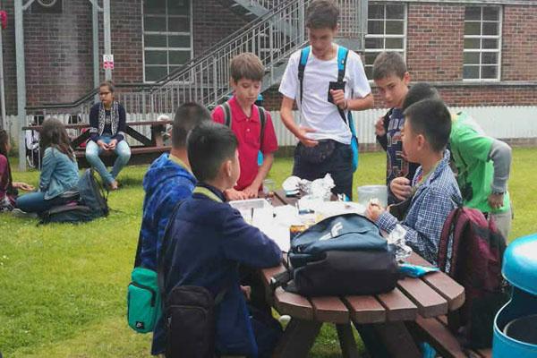 广州市培英中学夏令营