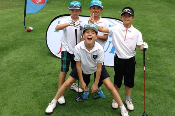 北京儿童高尔夫球夏令营精选