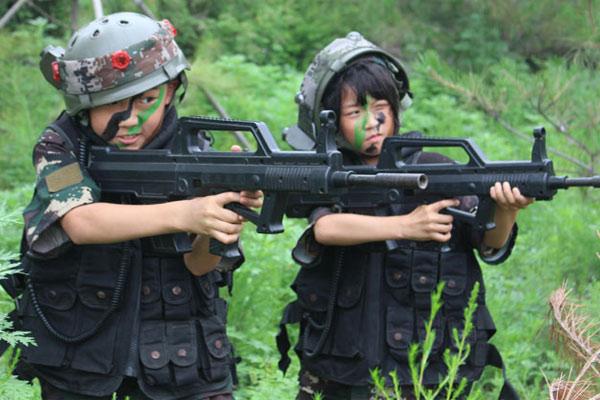 广州狼王夏令营暑期军训盛大起航!