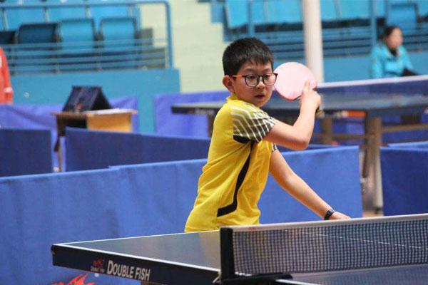 上海乒乓球夏令营哪家强?奥林修斯少不了