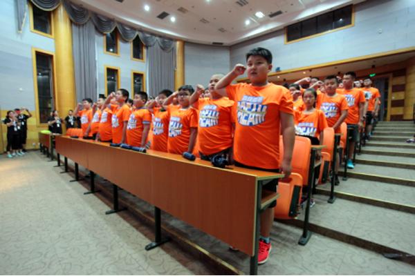 杭州儿童减肥夏令营,换孩子健康身体