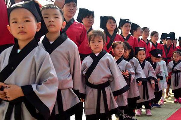 广州到山东的国学夏令营