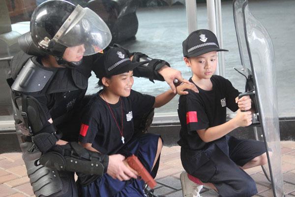 贵阳武警学校夏令营