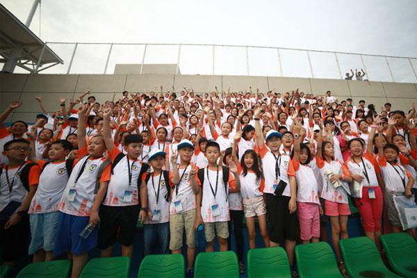 广州共青团夏令营关爱留守少年儿童