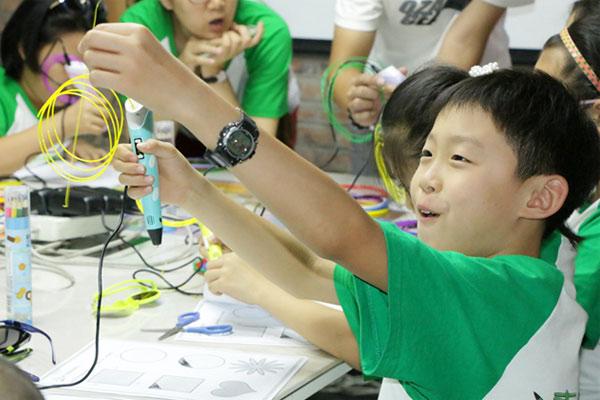 杭州机器人夏令营,提升心智成长