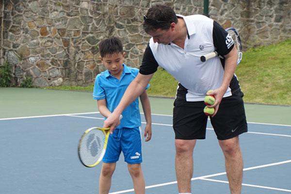 深圳金地网球夏令营,解锁学习网球的正确姿势