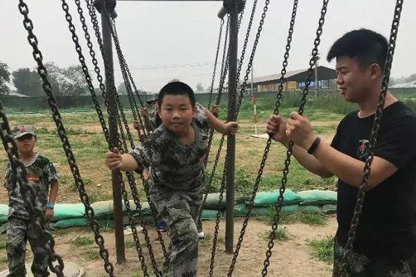 小学生军训夏令营