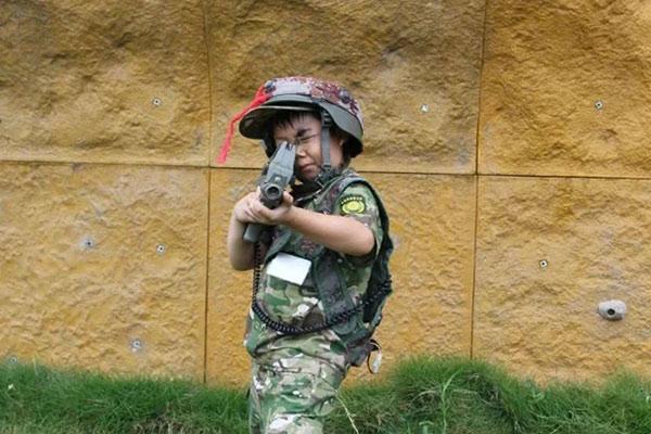 广州军事夏令营