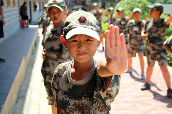 南京特种兵军事夏令营,人人都是小小特种兵