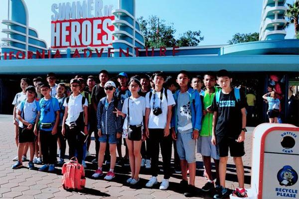 西安出发美国游学夏令营,感受沉浸式教学