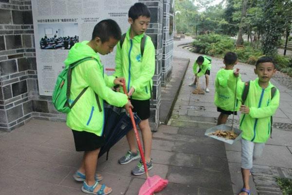 广州市青少年夏令营荷景路附近活动记录