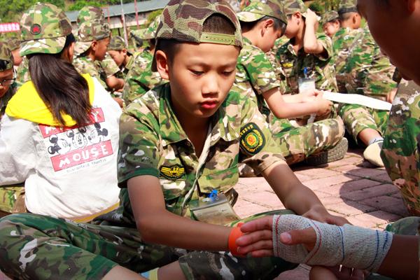 30天深圳军事蜕变营