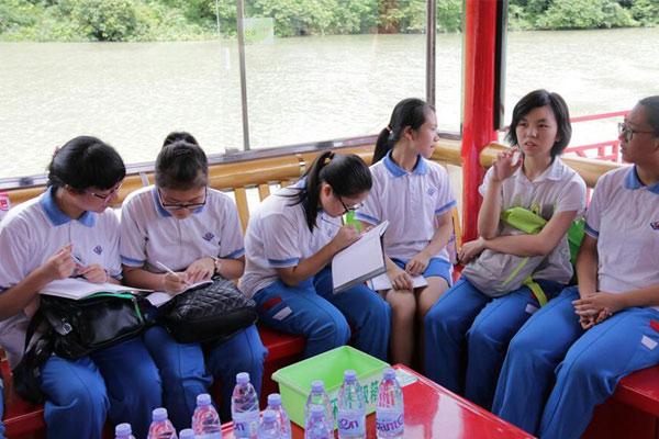 广州市叮叮学府夏令营助新生提前适应初中生活