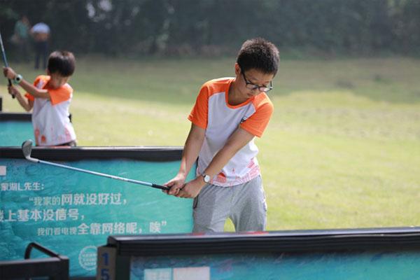 南京钟山高尔夫夏令营活动特色